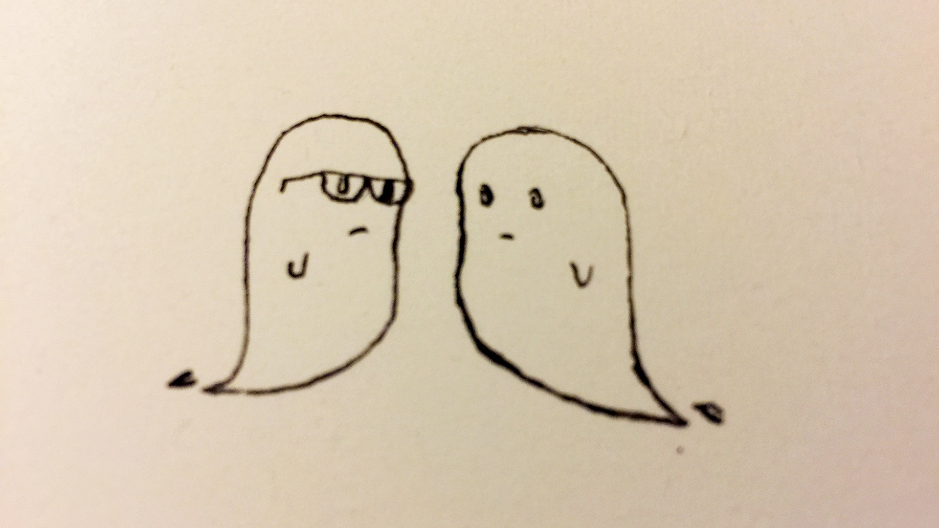 bored ghost